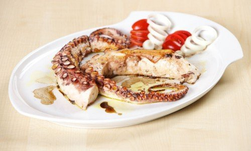Octopus vom Grill